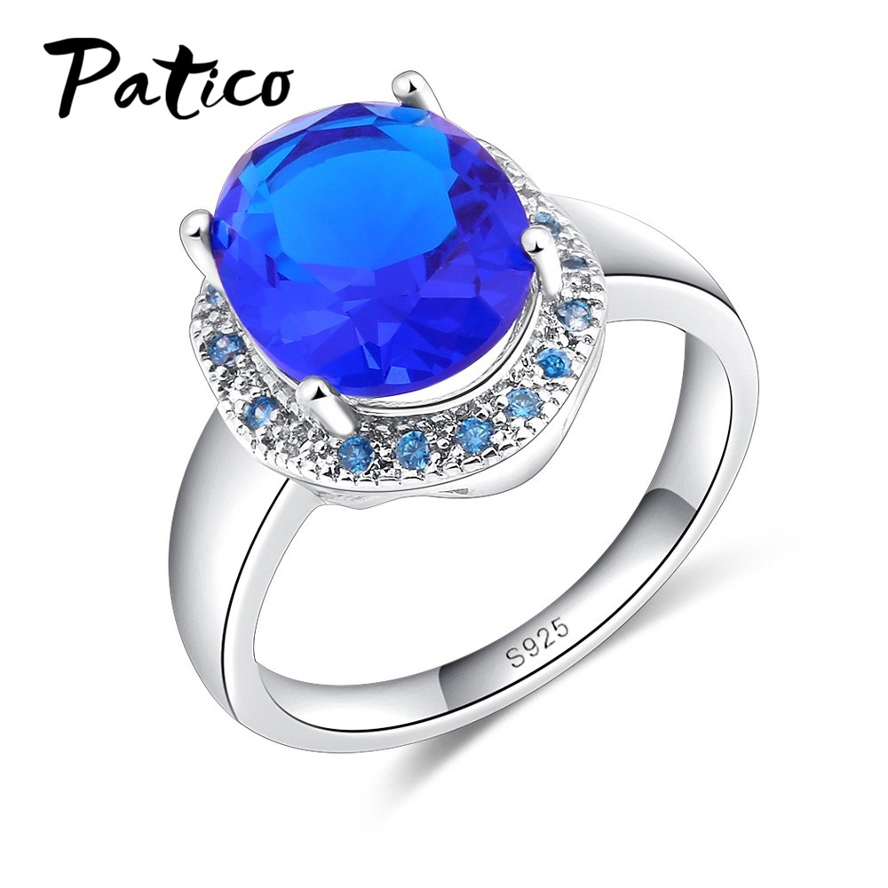 Simple Silver Wedding Rings For Women PATICO Simple E...