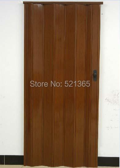 1pcs freeshipping PVC folding door L09-001 Casual door plastic door accordion doors H205cm* & 1pcs freeshipping PVC folding door L09 001 Casual door plastic door ...