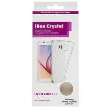 Накладка силикон iBox Crystal для Samsung Galaxy J1 (2016) (прозрачный)