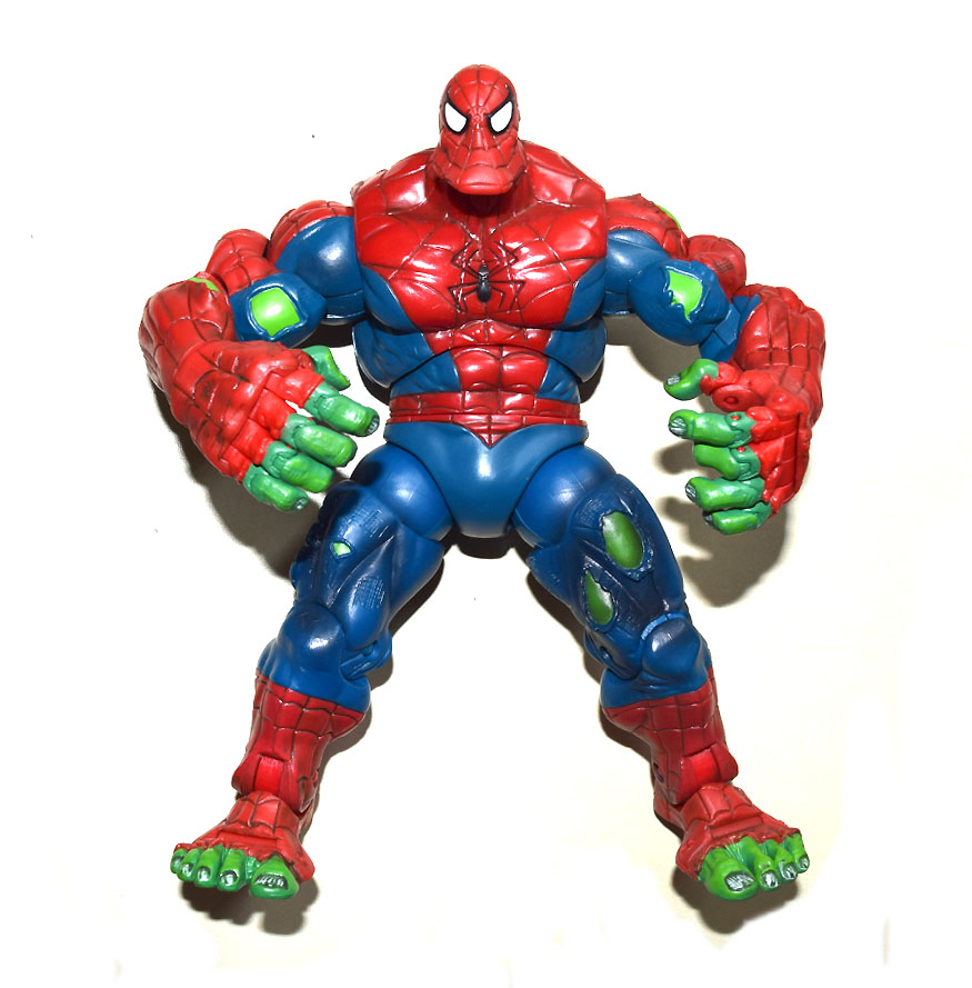 Человек паук и халк