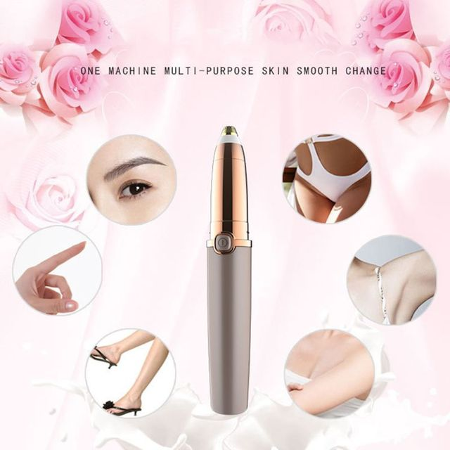 Electric Eyebrow Trimmer Shaver for Women Painless Hair Removal Makeup Razor Portable Hair Epilator 4