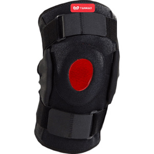 Image 5 - 1PC Knee Joint Brace Support Adjustable Breathable Knee Stabilizer Kneepad Strap Patella Protector Orthopedic Arthritic Guard