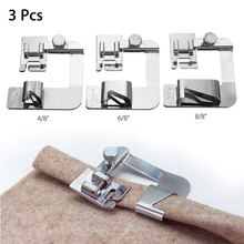 Prensatelas de máquina de coser doméstica, accesorios de costura para marcas como Brother o Singer, para hacer dobladillos, disponible en tamaños de 13, 19 y 22 mm, 7YJ243, 1 unidad