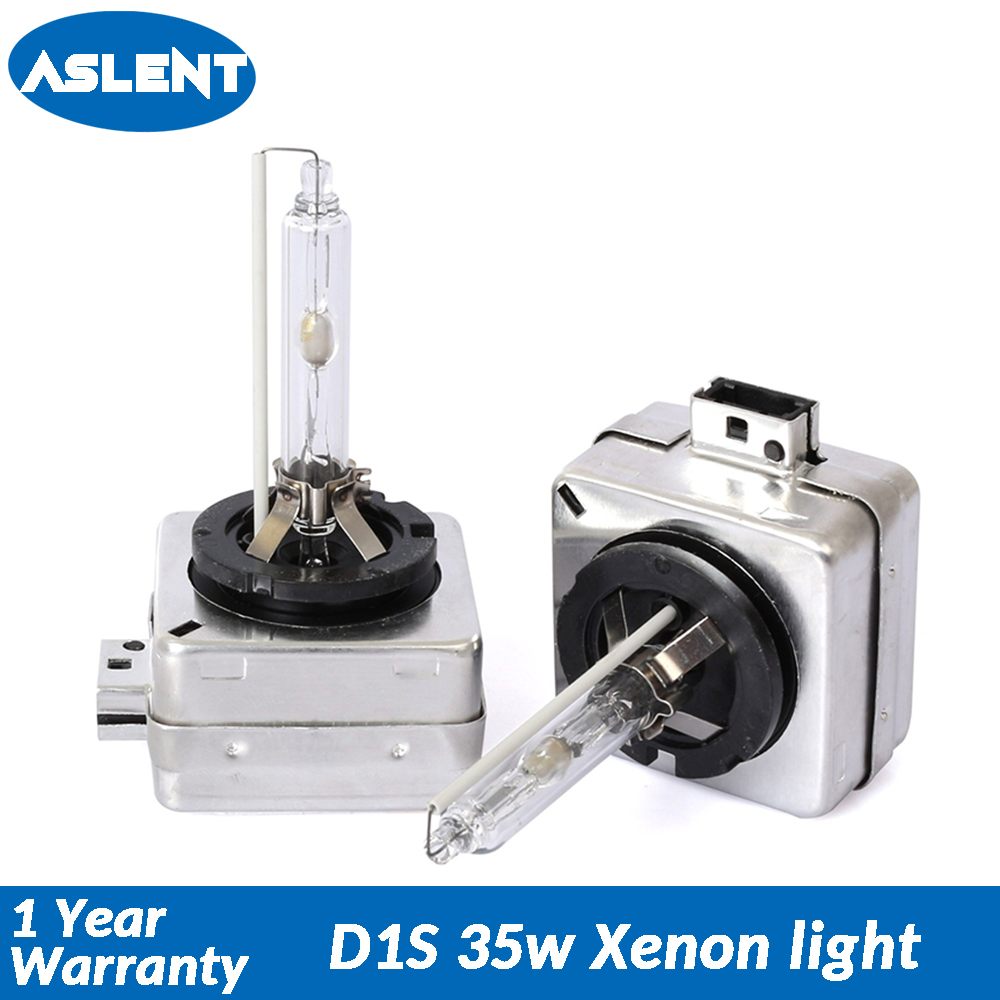 Aslent <font><b>D1S</b></font> D1R D1C CBI HID <font><b>xenon</b></font> headlight bulbs lamps 12v 35w Auto Car light <font><b>6000K</b></font> 8000K D1 Universal for BMW Audi Benz Q3 A4L image