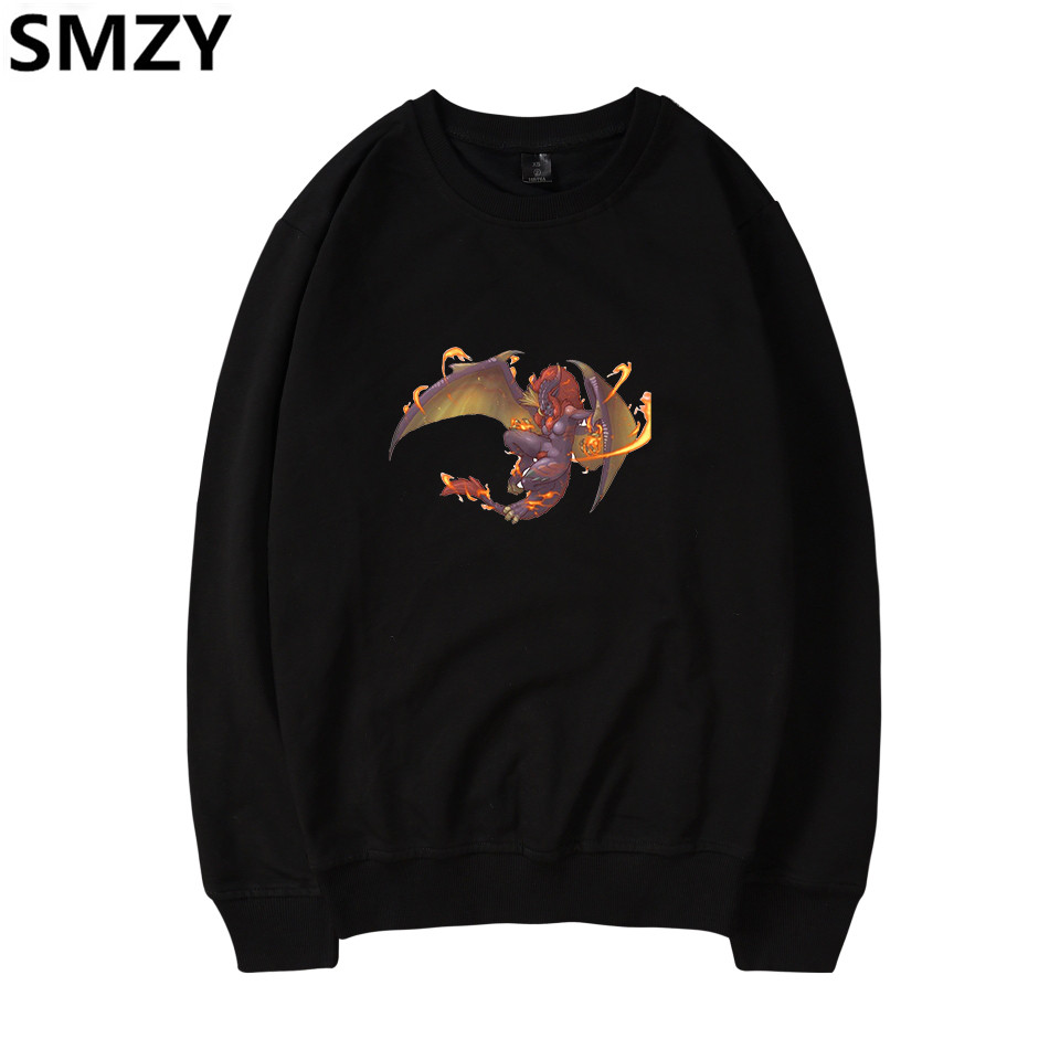 SMZY Monster Hunter World Capless Sweatshirts Men Long Fashion APRG Gmae MHW Hoodie Swea ...