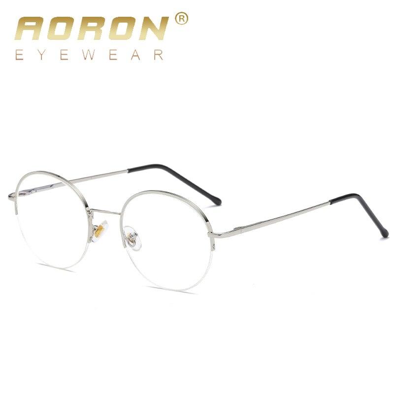AORON 2018 frauen Brillen Rahmen Metall Computer Brille Anti Blau ...