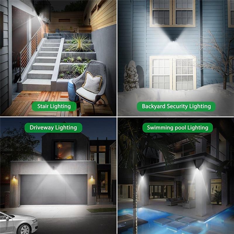 ARILUX 10 w PIR Motion Sensor Solaire LED Lumière 66 COB LED Étanche Lumière Extérieure Grand Angle Mur Lampe