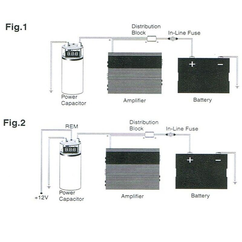 Car Audio Capacitor QP-3