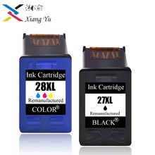 27XL 28XL Refilled Ink Cartridge Replacement For HP 27 28 XL for HP Deskjet 450 450CI 5550 3420 3520 3550 3650 3740 3845 недорго, оригинальная цена