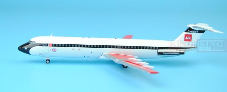 Wings XX2954 JC BEA Spike: BAC 111-510ED G-AVMI 1:200 commercial jetliners plane model hobby spike wings xx4502 jc turkey airlines b777 300er san francisco 1 400 commercial jetliners plane model hobby
