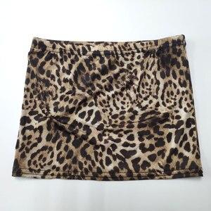 Image 3 - ผู้หญิงเซ็กซี่น้ำแข็งผ้าไหมเสือดาว Micro Mini กระโปรงแน่นกระโปรงดินสอ Sheer โปร่งใสกระโปรง Night Club แฟนตาซีกระโปรงเร้าอารมณ์สวมใส่