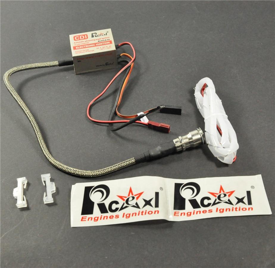 1pc Rcexl NGK CM6 10MM Straight Single Ignition For Spark Plug + Universal Sensor Bracket ngk plug br8hs 10 74234