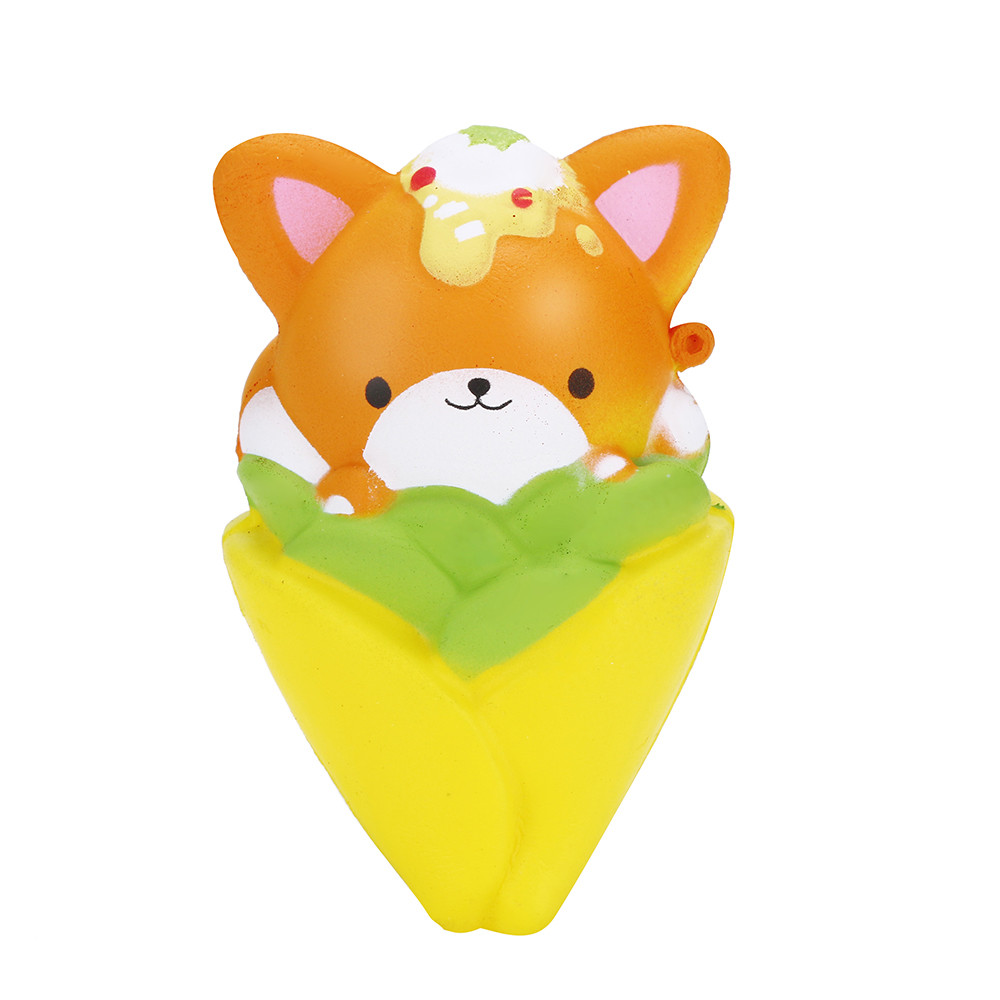 Squishy Toys Kawaii 12CM Squishy Pinecone Bear Cream Scented Slow Rising Stress Reliever Squeeze Toy A520