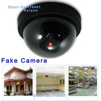 Emulational Fake Surveillance Security Decoy Dummy Dome CCTV DVR For Home Camera With Flashing Red Led