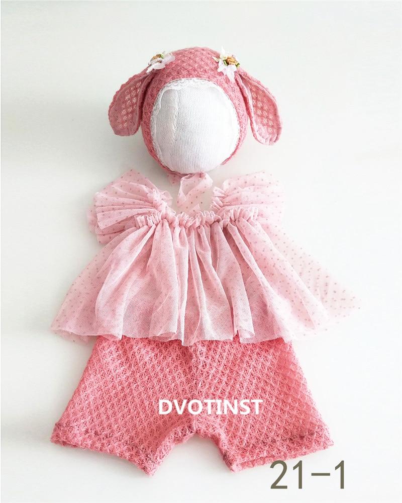 Dvotinst newborn fotografia adereços roupas do bebê