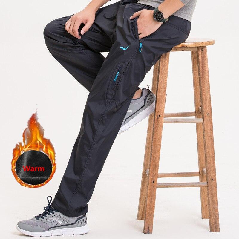 Nueva 3 colores Otoño Invierno Mens Casual pantalones rápidamente seco de trabajo de los hombres Pantalones Hombre Pantalones y pantalones deportivos impermeable pantalones