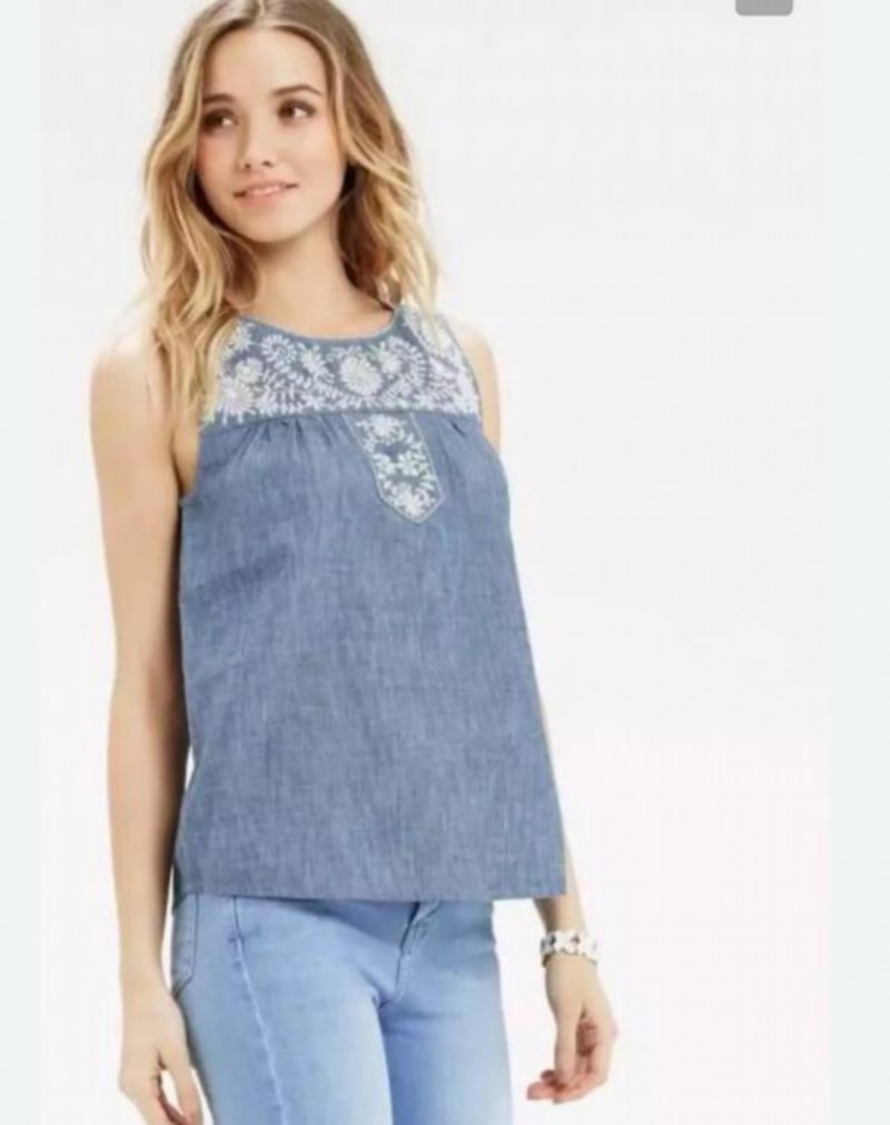 Online Get Cheap Denim Sleeveless Top -Aliexpress.com | Alibaba Group