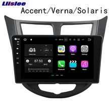 Liislee For Hyundai Accent/Verna 2011~2012 Android Car Navigation GPS Audio Video HD Touch Screen Multimedia Player No CD DVD