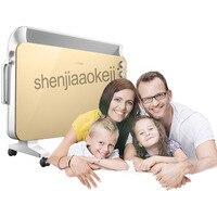 220 v 1 pc Triple bescherming Kachel huishoudelijke elektrische Kachels slaapkamer  woonkamer  badkamer ect. Mute speed hot air heater-in Elektrische kachels van Huishoudelijk Apparatuur op
