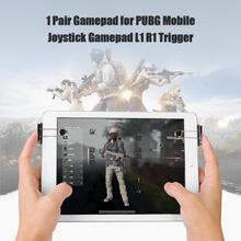 1 пара геймпад для PUBG мобильный Джойстик Геймпад L1 R1 контроллер триггер L1 R1 шутер контроллер игровой триггер для iPad планшета