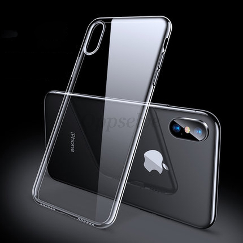 Fashion Phone Case For iPhone Xs Max Xr X S Coque Ultra Thin Slim Soft TPU Silicone Back Cover For iPhone 8 7 6 S 6s Plus Fundas in Fitted Cases from Cellphones Telecommunications