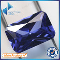 50Pcs Octangle Shape  5A+ Blue Color CZ Stone 3x5-10x12mm Synthetic Gems Cubic Zirconia For Jewelry