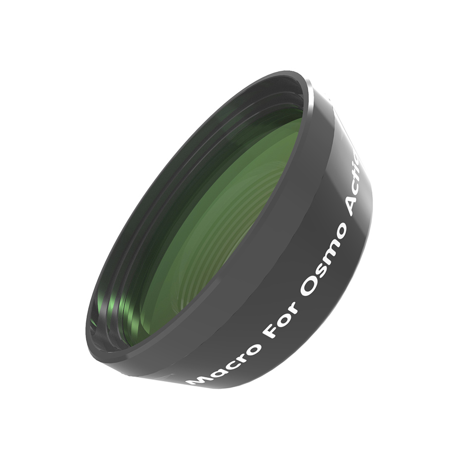 CAENBOO Macro Lens For DJI Osmo Action 15X Close-up Lens/Fish eye Lenses Filter For Osmo Action Optical Glass Lens Accessories