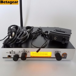 Betagear In-Ear Monitoring System 300IEM G3 SR300 IEM Personal Monitor Wireless System in ear monitor system audio profesional