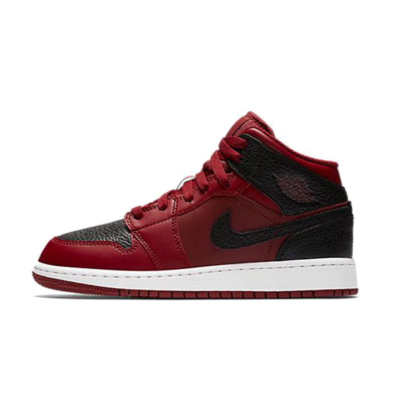 magasin en ligne 23e1b 9166a US $128.7 22% OFF|NIKE AIR JORDAN 1 MID BG Original Womens Leisure  Basketball Shoes Footwear Super Light High Quality Sneakers For Women  Shoes-in ...