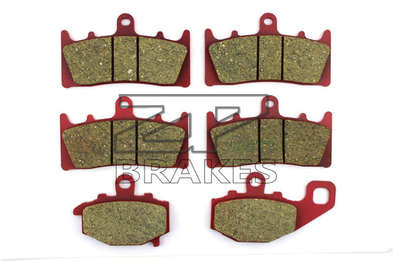 Brake Pads Ceramic For Front + Rear KAWASAKI ZX 6R A1 (ZX 636 A1) 636cc 2002 OEM New High Quality ZPMOTO original fuel pump oem uc t35 kawasaki 636 zx 6r zx 10r zzr1400 zx 14r