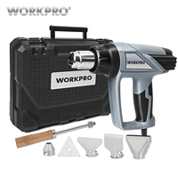 WORKPRO Digital Heat Gun Home Electric Hot Air Gun Three temperature adjustment 2000W 220V EU Plug