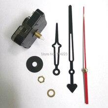 Wholesale 10set New Quartz Clock Movement for Clock Mechanism Repair DIY clock parts accessories shaft 16.5mm JX026