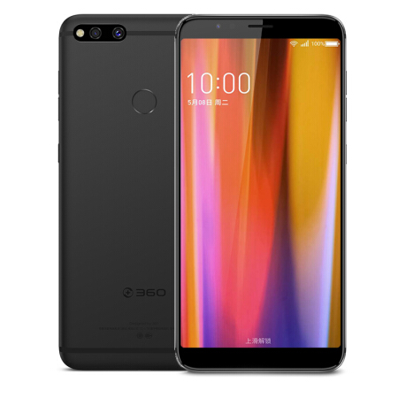 360 N7 4g LTE Mobile Téléphone 5.99 Snapadragon 660 Octa Core 6 gb 64 gb 16.MP Caméra 5030 mah Charge Rapide D'empreintes Digitales Android 8.1