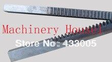 CNC Rack Gear Mod 5  45# Steel Spur Gear 40×40 Length in 1000mm  gear rack