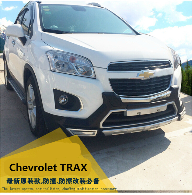 Fit For Chevrolet TRAX 2013 2016 Front+ Rear Bumper Diffuser Bumpers Chevrolet Trax Modified on chevt trax, 2014 chevy trax, small chevy trax, gmc trax, buick trax, dodge trax, 2016 chevy trax, 2010 chevy trax, 2004 chevy trax, 2015 chevy trax, used chevy trax, gm trax, 2013 chevy trax, nissan trax, honda trax, 2012 chevy trax, 2009 chevy trax, chevy sport trax, new chevy trax, transformers chevy trax,