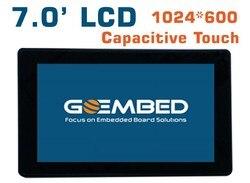 7 بوصة LCD 1024*600 شاشة عرض عالية لوحة سعوية تعمل باللمس am335x imx6 SBC مجلس beagleboneblack