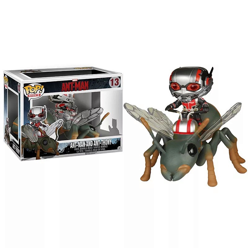 Funko Pop New 6'' Big Ant Man And Ant Thony The Avengers Action Figures Collectible Model Toys For Children Birthday Party Gifts