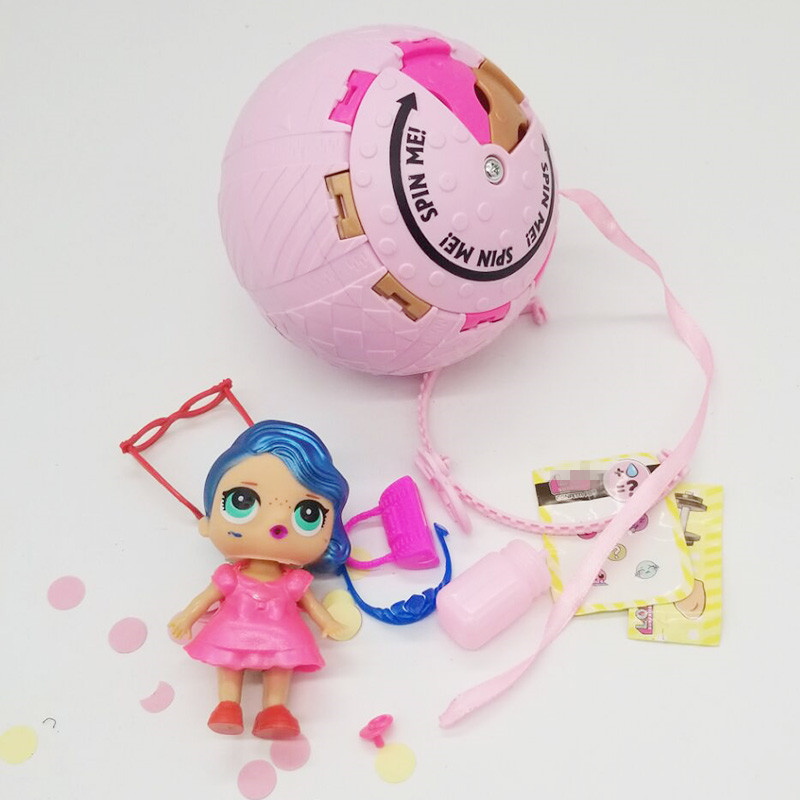2018 Newest Arrial Funny Lol Dolls CONFETTI POP Lol Magic Ball Lol Action Figure Toys Open egg Doll Kids Funny Toys For Girls