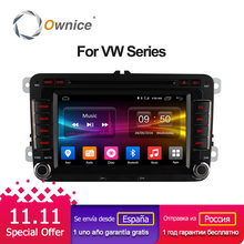 Ownice Octa 8 Core Android 6.0 2G RAM Car DVD Player for Volkswagen golf 4 5 6 touran passat B6 jetta caddy transporter t5 polo