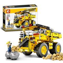 SEMBO Building Blocks kids toys transport Construction vehicle Engineering Truck Model kit Bricks Educational Toys for children