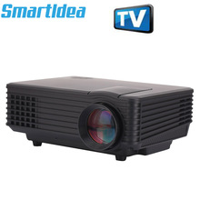 Smartldea Nieuwe ST85 1800 lumen Pico Mini LED Projector digitale Full HD 1080 p Draagbare LCD Video Proyector TV Thuis theater Beamer(China)