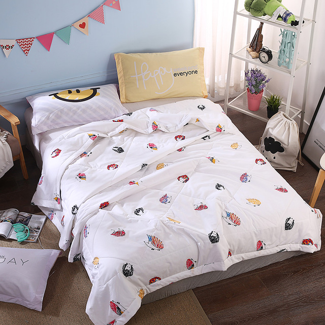 Western Style Quilting Comforter Summer Quilt Twin Queen Size