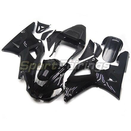 Обтекатели для Yamaha YZF 1000 R1 YZF-R1 год 00-01 2000 2001 мотоциклетный обтекатель abs комплект Кузов Мотоцикл передка черный