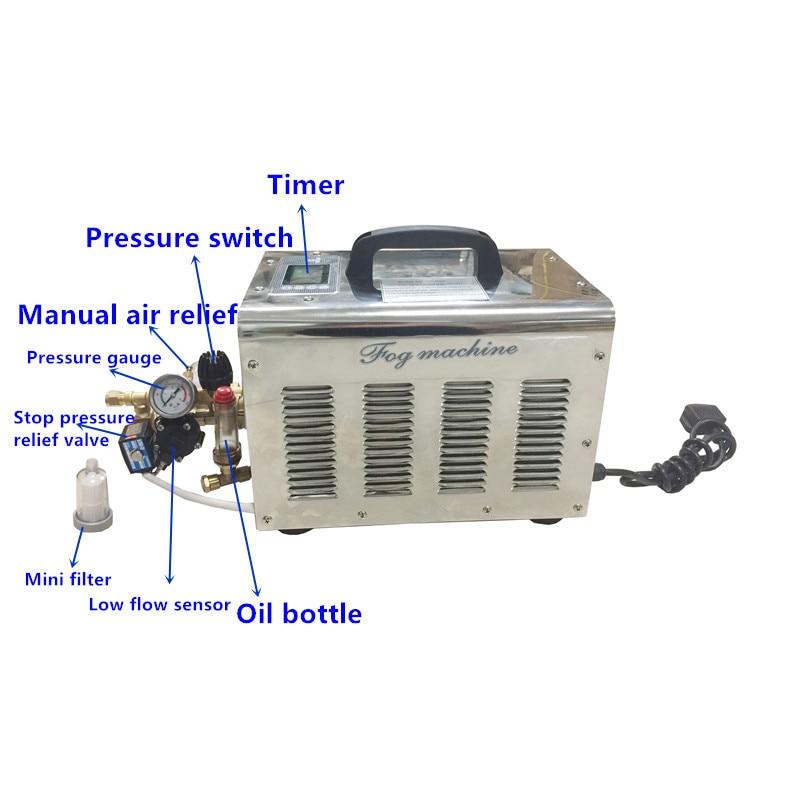 A156 Fog machine atomizer high pressure 3L/min misting pump 100pcs taiwan mist nozzles for public placeA156 Fog machine atomizer high pressure 3L/min misting pump 100pcs taiwan mist nozzles for public place
