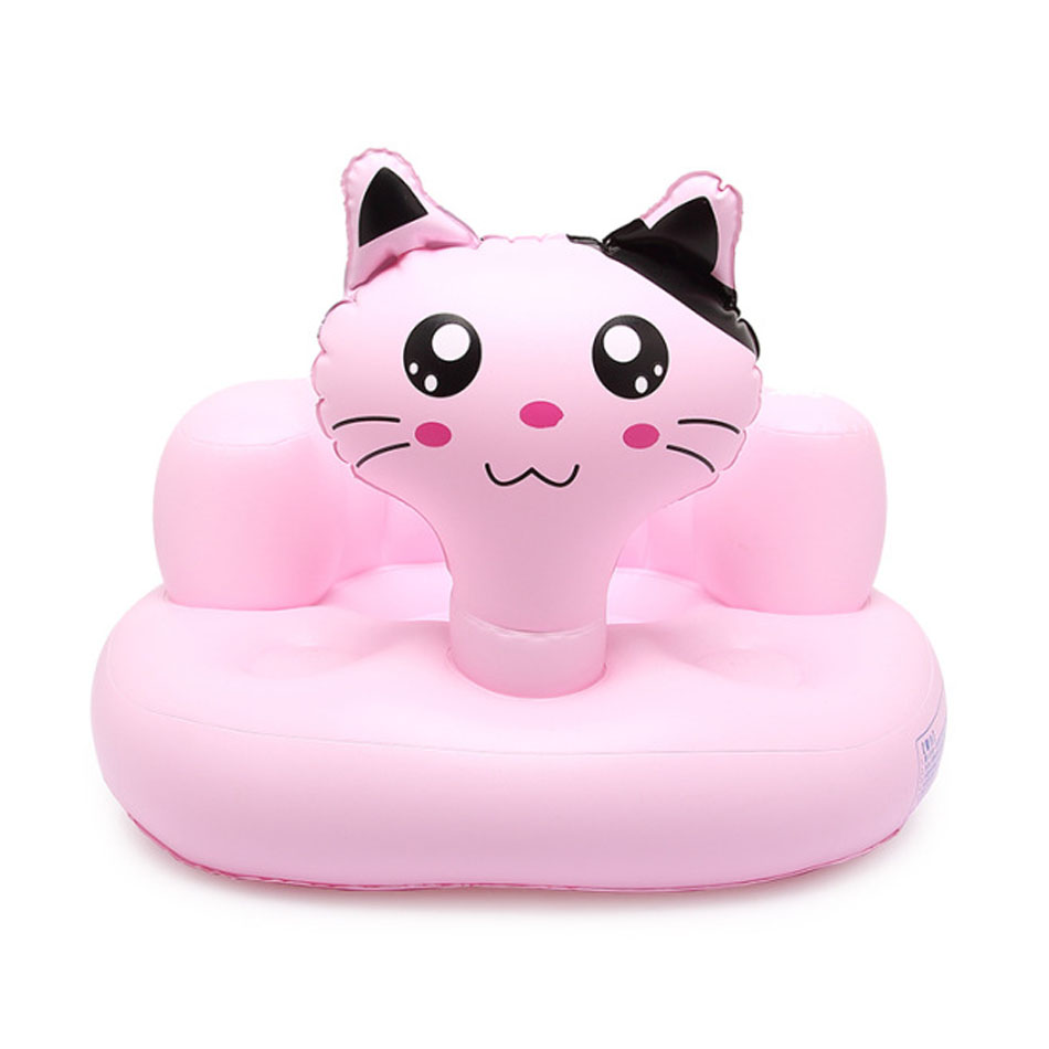 Inflatable furniture for kids - Portable Baby Inflatable Sofa Seat Baby Learn Stool Baby Dining Chair Bathing Seat Camping Outdoor Chair