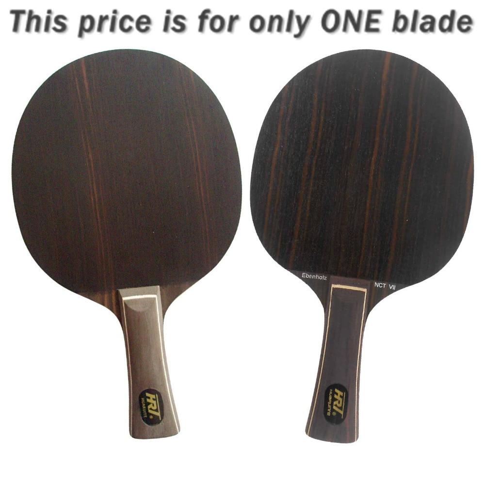 HRT Ebony NCT VII Table Tennis Blade for PingPong Racket Long Shakehand FL lkt will power l 1007 arylate carbon table tennis blade shakehand for pingpong racket shakehand long handle fl