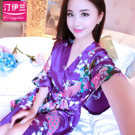 2017 Womens Sleepwear Cotton Nightgowns & Sleepshirts Lovely Sleep Dress for Young Women Lounge wear sleepwear summer dress