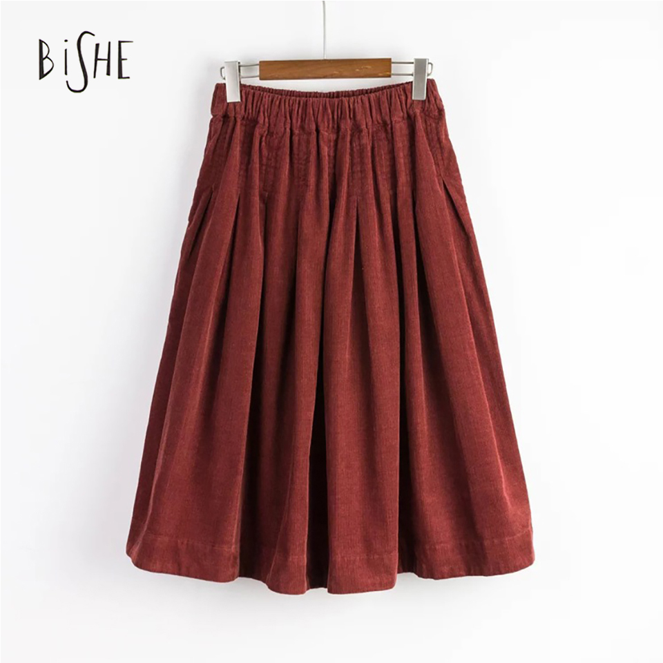 get cheap corduroy skirt aliexpress