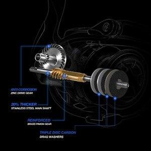 Image 4 - Piscifun Storm Spinning Reel 6.2:1 Gear Ratio 10+1 Ball Bearings 10KG Max Drag 2000,3000,4000,5000 Series Fishing Reel