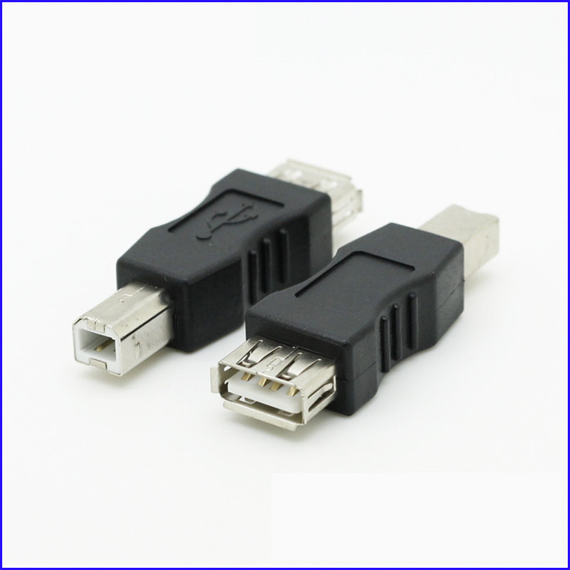 Cables USB A Female to B Male Converter Adapter USB AF to BM Convert a A Male into B Male Cable Length: Other